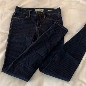 PacSun stripped jeans